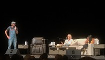 Dax Shepard Welcomed Special Guest Monica Potter for Sunday Night's Live Taping of Armchair Expert in Cleveland
