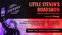 Little Steven's TeachRock Roadshow to Launch With Cleveland-Centric Episode