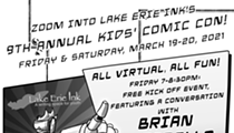 Lake Erie Ink's 9th Annual Kids' Comic Con To Take Place Virtually