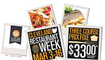 Dates Announced for Cleveland Restaurant Week