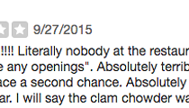 Our Favorite Dumb Bad Yelp Reviews of Cleveland Restaurants