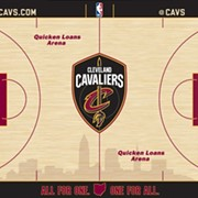 Cavs Unveil New Court Design for 2017-2018 Season