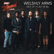 Welshly Arms Will Appear on 'Jimmy Kimmel Live' Oct. 3