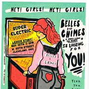Join Belles & Chimes CLE for their 5th Season of Competitive Pinball at Superelectric Tomorrow