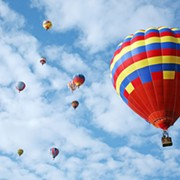 Look Out for Hot Air Balloons This Memorial Day Weekend in Chagrin Falls