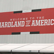 The Cleveland Browns Welcome You to the 'Hardland of America'