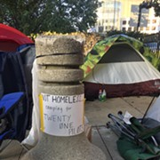 The People in Tents Near the Q Want You to Know They're Not Homeless, But Camping for Twenty One Pilots