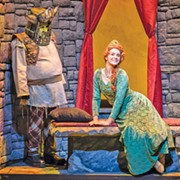 The Socially Awkward Fart Fan is Back, in 'Shrek the Musical' at Beck Center