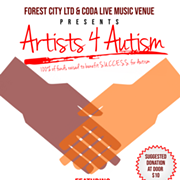 Artists 4 Autism Benefit to Take Place at CODA on Thursday