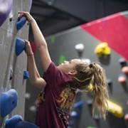 There is a New Rock Climbing Gym in Shaker Heights