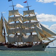 Some Tall-Ass Ships Are Sailing to Cleveland in July