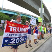 Trump Campaign Rally in Cincinnati Draws Big Crowds, Protests — and Scuffles