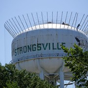 Ziggy Cartoon is Getting Painted Over on Strongsville Water Tower and Residents Aren't Pleased