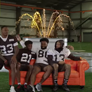 The Browns Show They'll Be There For You in New 'Friends' Parody Video