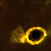 Telescope Network at Ohio State University Shows a Star Being Torn Apart in the Grips of a Black Hole