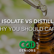 CBD Isolate vs CBD Distillate: Why Should You Care