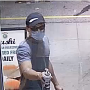 Police Looking for Help to Identify This Asshole Who Spray Painted Swastikas and Anti-Semitic Graffiti in University Heights
