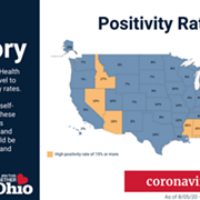 Nevada Added to List of Ohio's COVID-19 Travel Advisory States