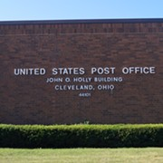 Junked Sorting Machine Behind USPS Cleveland Office Part of National Plan to Slow Down Mail