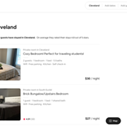 Airbnb Suspends 25 Listings in Cleveland for Violating Coronavirus Party Policies