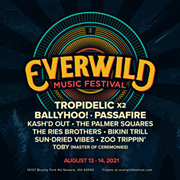 Cleveland's Tropidelic To Headline Inaugural Everwild Music Festival in August