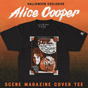 Get In the Halloween Spirit With CLE Clothing Co.'s New Alice Cooper Scene Cover T-Shirt