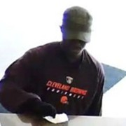 Browns Fan Robs Cleveland Bank
