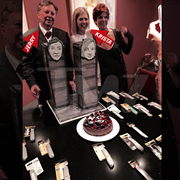 Devo's Jerry Casale Got Married on Sept. 11th, Had 9/11 Themed Wedding Cake and Box Cutters at Reception