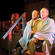 A Couple Old Friends Chew the Fat, and Their Loneliness, in 'Ages of the Moon' at Ensemble Theatre