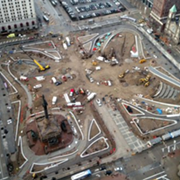 PHOTO: Here's What the Cleveland Public Square Renovations Look Like Right Now