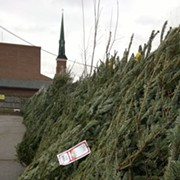 Petitti's Garden Center Spreads Holiday Cheer, Donates 60 Trees to West Side Catholic Center