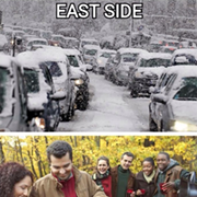 This Graphic Explains Winter on the East vs. West Side of Cleveland