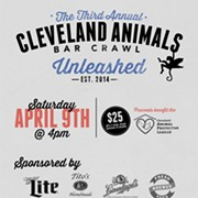 Third Annual Cleveland Animals Bar Crawl to Take Place on April 9