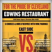 Gloves to Come Off in East vs. West Chefs Bout at EDWINS