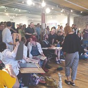 Four Groups Enter, Only One Emerges Victorious in Drawn & Quartered Live Drawing Competition at HEDGE Gallery
