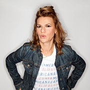 Comedian/actress/singer Sandra Bernhard Talks About Her New Live Show, Feel the Bernhard