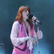 Florence and the Machine Singer Displays Vocal Range During Dynamic Performance at Blossom