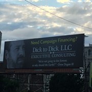 "Who's the Dick Behind the ""Dick to Dick LLC"" Billboard on Carnegie?"