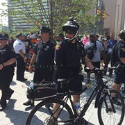 Cleveland's Bicycle-Mounted Police Unit Will Stay On After RNC