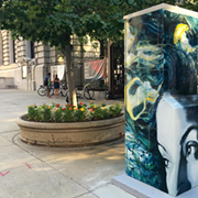 Downtown Cleveland Alliance Unveils Art Box Mural Series Throughout Downtown This Morning