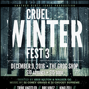 Grog Shop to Host Cruel Winter Fest 3, an Annual Local Hip-Hop Showcase