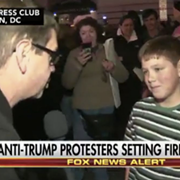 "Drew Carey's Son Was the Kid Who Said ""Screw Our President"" On Fox News the Night Before the Inauguration"