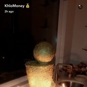 Khloe Kardashian Gave Tristan Thompson a Very Special Gold Birthday Cake