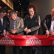 Members of the Zombies Participate in the Opening of Their New Rock Hall Exhibit
