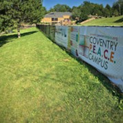 As It Faces an Uncertain Future, the Coventry PEACE Campus Hosts a Community Weekend of Events