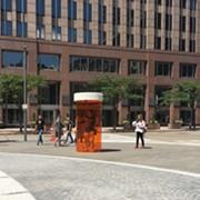 10-Foot Prescription Bottle in Public Square Draws Attention to Opioid Epidemic