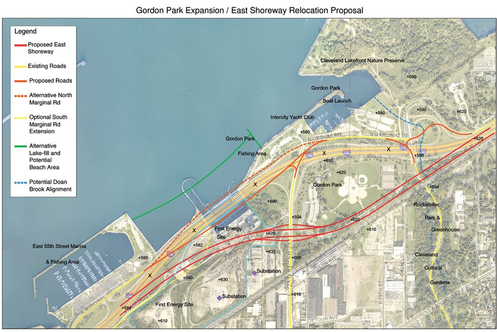 PLAN CONCEPT, COURTESY OF BOB GARDIN, PROJECT DIRECTOR, GREEN RIBBON COALITION.