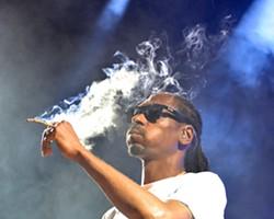 Snoop Dogg, captured in Cleveland. - JOE KLEON
