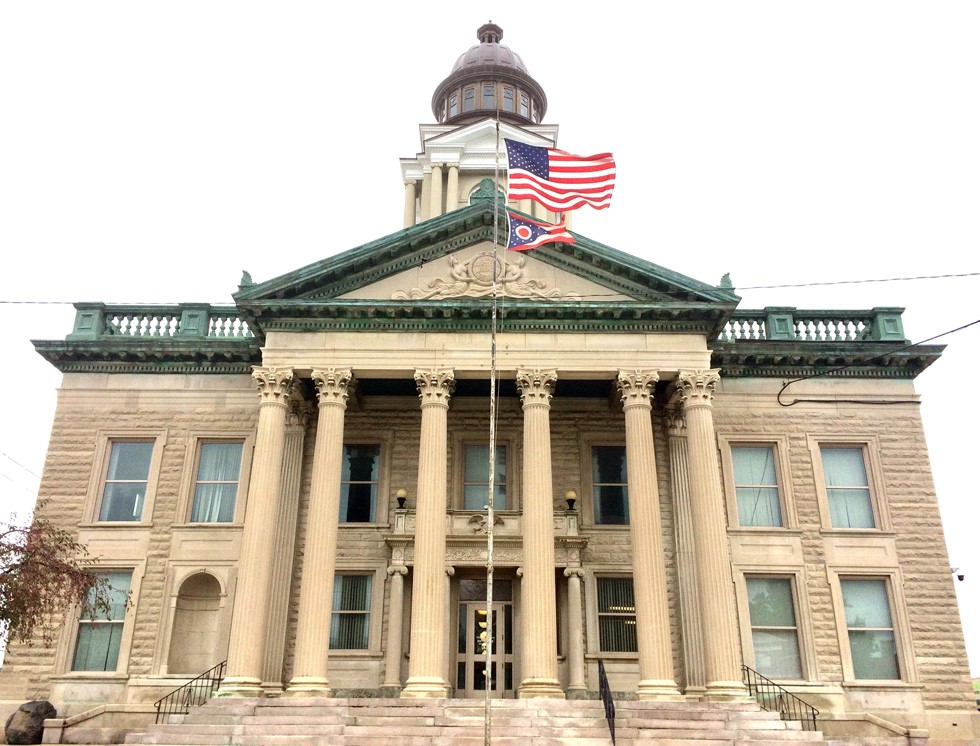 The Crawford County Courthouse in downtown Bucyrus - PHOTO BY ERIC SANDY