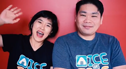 Jessie and Andy Ng addressing their YouTube viewers.